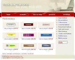 menus template