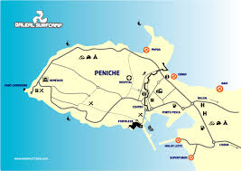 peniche mapa