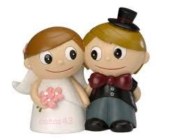figuras tarta boda