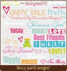 girlie fonts