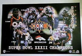 broncos posters