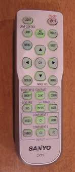 sanyo projector remote