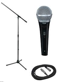 shure microphone stand