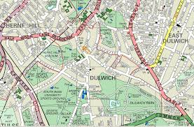 map of dulwich