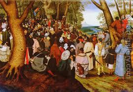 john the baptist painting