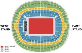 new wembley seating plan