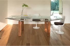 contemporary glass tables