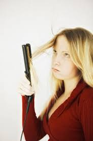 hair straightening pictures