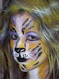 face painting cats