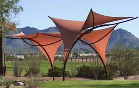 tensile shade structures