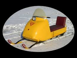antique snowmobiles
