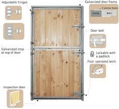 horse stable doors