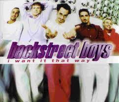 i want it that way backstreet boys