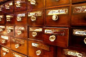apothecary drawer