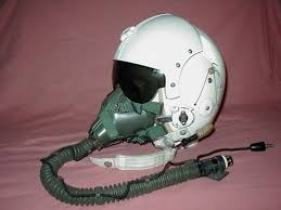 fighter pilots helmets
