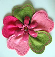 applique flower