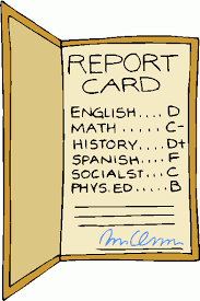 pictures of report cards