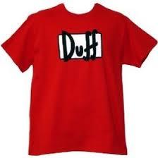 duff t shirts