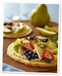 summer fruit dessert