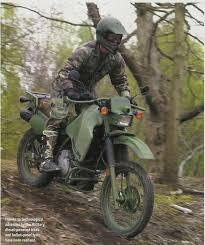 military dirt bikes