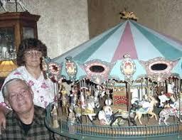 miniature carousel
