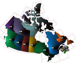 canada topographic map