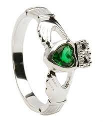 birthstone promise ring