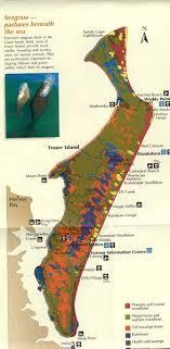 maps of fraser island