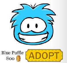 blue puffles