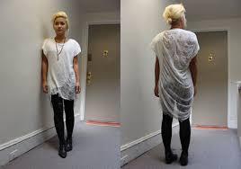 shredded shirt