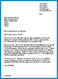 how to do a covering letter