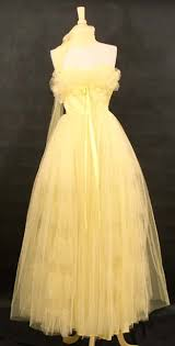 lemon prom dress
