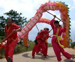 dragon dance china