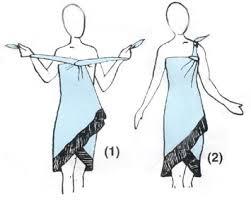 sarong tying