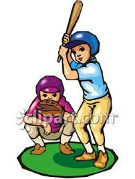 plays baseball