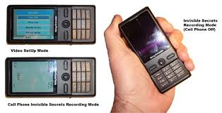 cell phone video camera