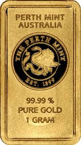one gold bar