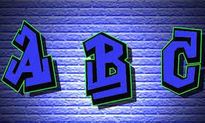 letras en graffitis