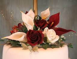calla lily and roses