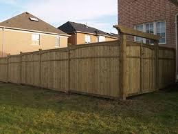 pressure treated wood fencing