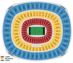 giants stadium seating map