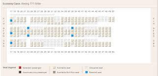 boeing 777 300er seats