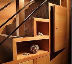 storage under staircase
