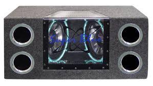 dual 12 speaker box