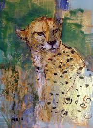 cheetah artwork
