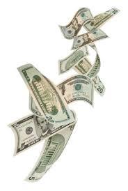 on dollars