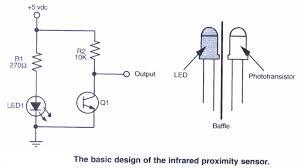 infrared sensor circuit