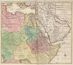 old map of middle east