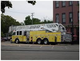 aerial fire truck