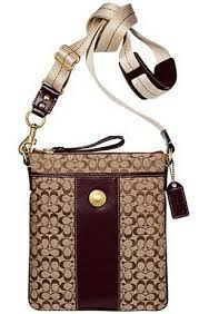 coach swing purse